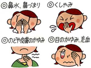 花粉症症状